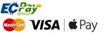 綠界科技ECPAY信用卡付款提供 VISA JCB MASTER CARD 銀聯卡付款支付,刷卡有額外2%手續費產生請先詢問